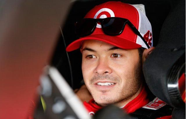 Larson, 25 on Monday, has three wins in the last 36 Cup Series races. (Getty)