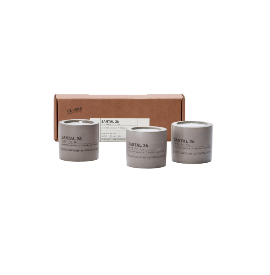 """<strong><h2>Le Labo Santal 26 Set of 3 Concrete Votives </h2></strong><br><strong>NEXT-BEST DEAL</strong><br>This set of three votives in Le Labo's most iconic scent come in sleek concrete concrete vessels and a mini-size format. Just like blankets, you can never have too many candles, right?<br><br><em>Shop more <a href=""""https://go.skimresources.com/?id=30283X879131&xs=1&url=https%3A%2F%2Fwww.nordstrom.com%2Fbrowse%2Fanniversary-sale%2Fall%3Fcampaign%3D0728publicgnpt1%26jid%3Dj012165-15573%26cid%3D00000%26cm_sp%3Dmerch-_-anniversary_15573_j012165-_-catpromo_corp_persnav_shop%26%3D%26postalCodeAvailability%3D10543%26filterByProductType%3Dhome_candles-home-fragrance&sref=https%3A%2F%2Fwww.refinery29.com%2Fen-us%2Fnordstrom-anniversary-sale-best-sellers"""" rel=""""nofollow noopener"""" target=""""_blank"""" data-ylk=""""slk:Nordstrom Anniversary Sale candles"""" class=""""link rapid-noclick-resp"""">Nordstrom Anniversary Sale candles</a></em><br><br><strong>Le Labo</strong> Santal 26 Set of 3 Concrete Votives, $, available at <a href=""""https://go.skimresources.com/?id=30283X879131&url=https%3A%2F%2Fwww.nordstrom.com%2Fs%2Fle-labo-santal-26-set-of-3-concrete-votives%2F5667243"""" rel=""""nofollow noopener"""" target=""""_blank"""" data-ylk=""""slk:Nordstrom"""" class=""""link rapid-noclick-resp"""">Nordstrom</a>"""