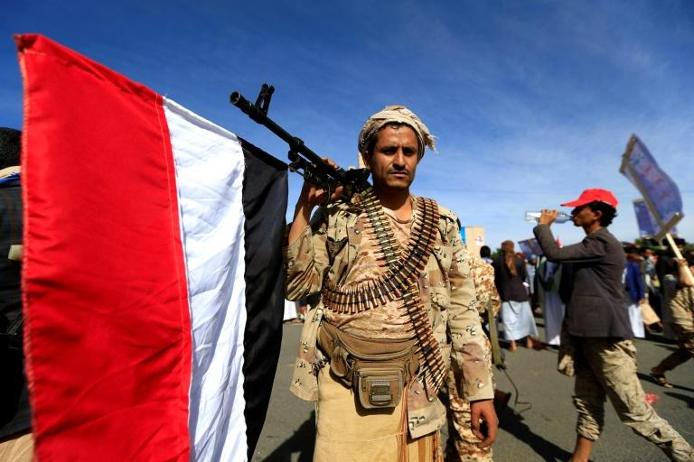 The Iran-linked Huthi Shiite rebels control the Yemeni capital Sanaa and much of the north