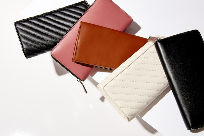 Wallets ($75 to $125) from Italic