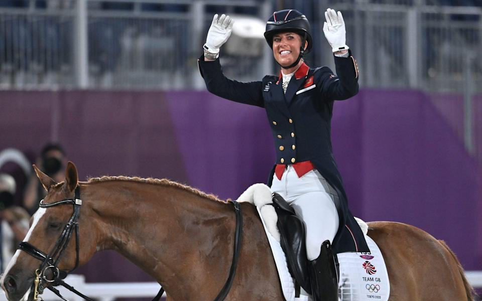 dressage tokyo olympics 2020 live charlotte dujardin equestrian gb - PAUL GROVER FOR THE TELEGRAPH