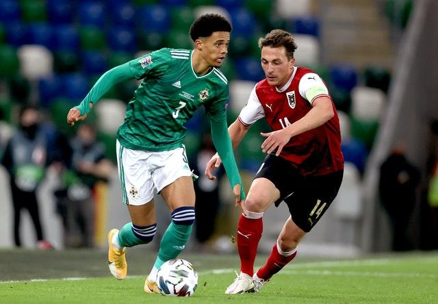 Northern Ireland suffered a sixth defeat in seven Nations League matches