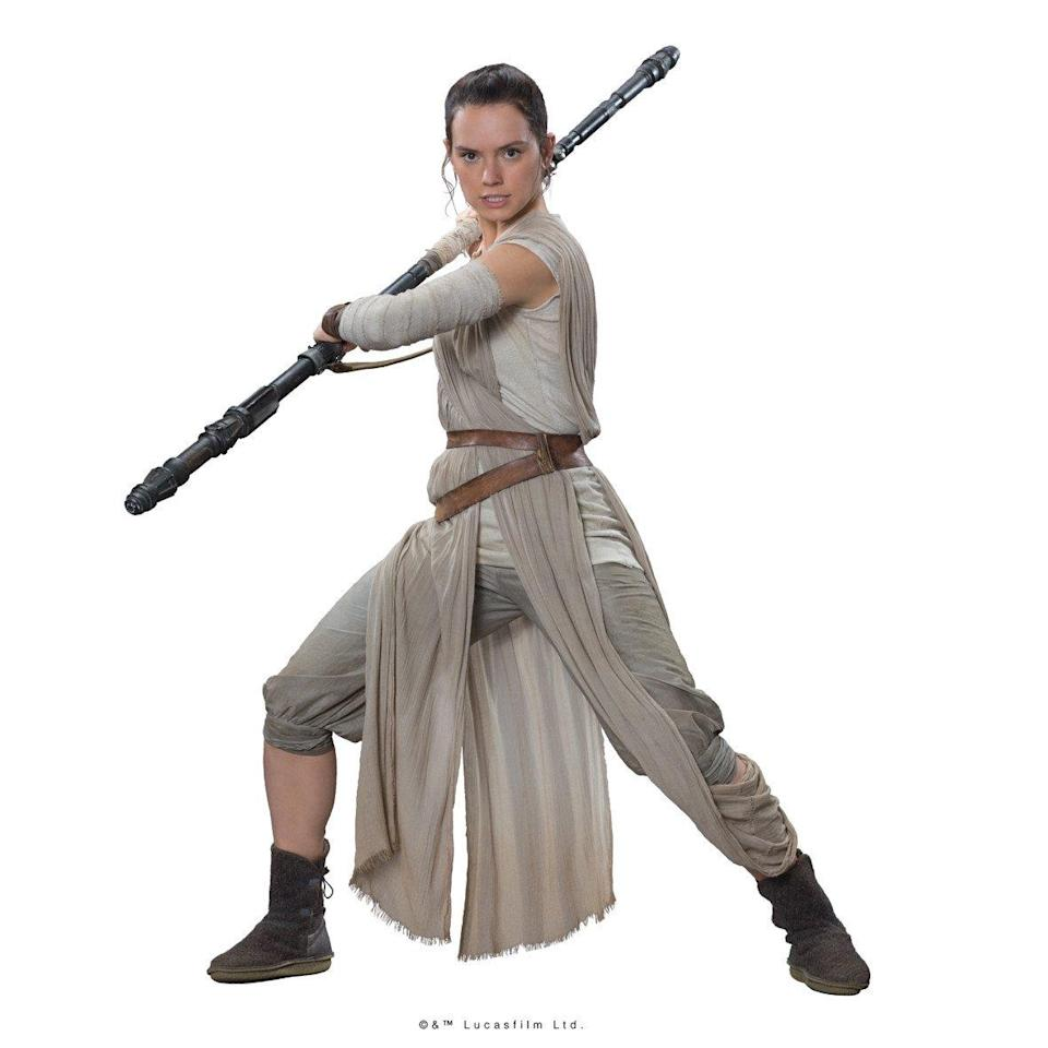 <p>Po-Zu says Star Wars cosplayers are going crazy for their shoe inspired by Rey in 'The Force Awakens'. (Po-Zu/LucasFilm) </p>