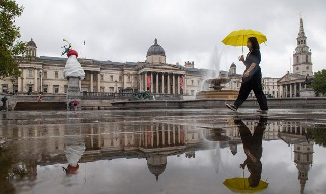 UK weather: Heavy rain and strong wind for parts of UK as Storm Alex arrives from Europe