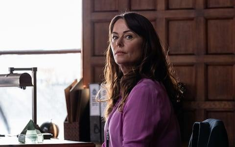 Polly Walker as Gill - Credit: World Productions Ltd