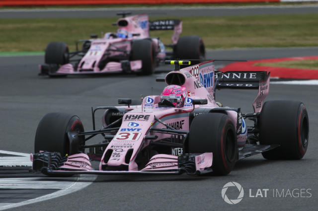 """Force India y BWT <span class=""""copyright"""">Charles Coates / Motorsport Images</span>"""