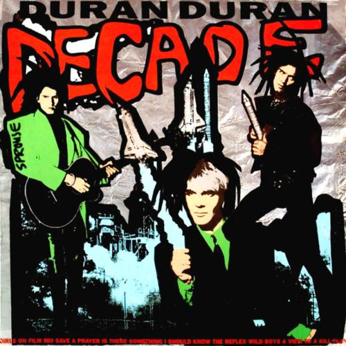 Duran Duran's 'Decade' compilation cover art, 1989. (Photo: EMI)