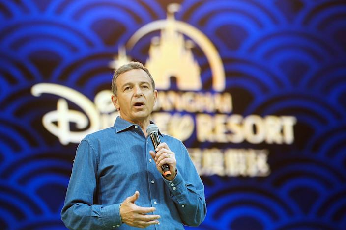 Disney Chief Executive Officer Bob Iger holds a news conference at Shanghai Disney Resort as part of the three-day grand opening events in Shanghai in 2016. (Photo: Aly Song/Reuters)