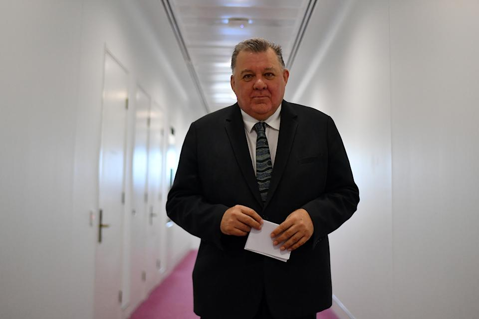 Craig Kelly says he has left the Morrison government so he can speak 'freely and fearlessly'. Source: Getty