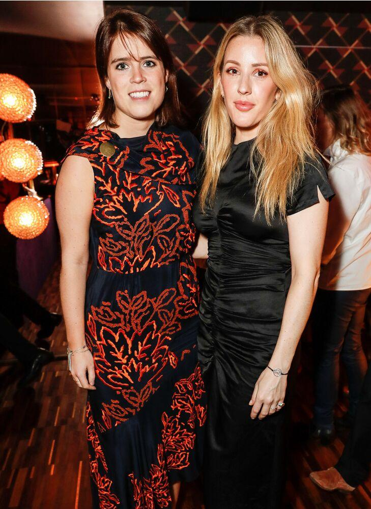 Princess Eugenie and Ellie Goulding | Dave Benett/Getty