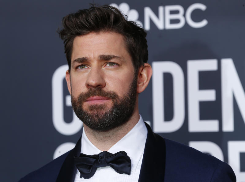 76th Golden Globe Awards - Arrivals - Beverly Hills, California, U.S., January 6, 2019 - John Krasinski REUTERS/Mike Blake