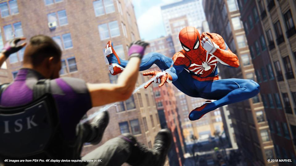 You'll take on all manner of criminals in 'Spider-Man.'