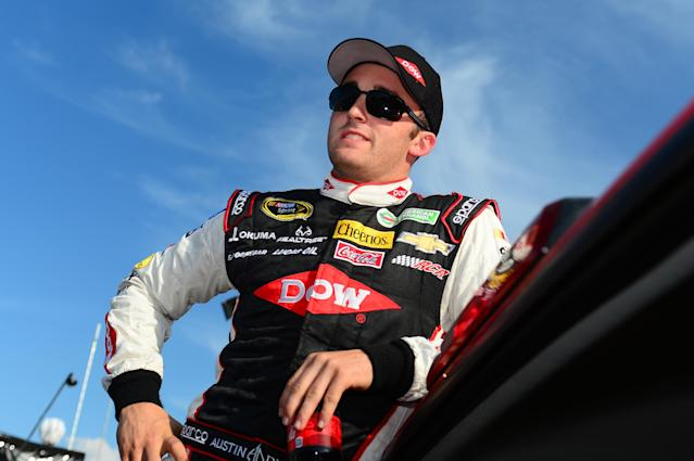 Austin Dillon would give himself a passing grade so far in 2014
