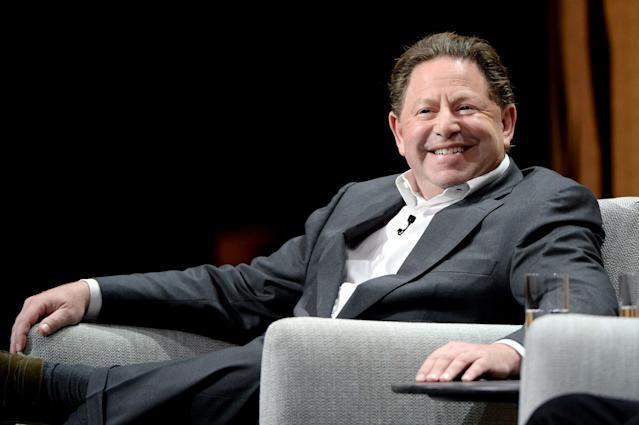 Bobby Kotick has spoken about the longer term revenue goals for Overwatch League.