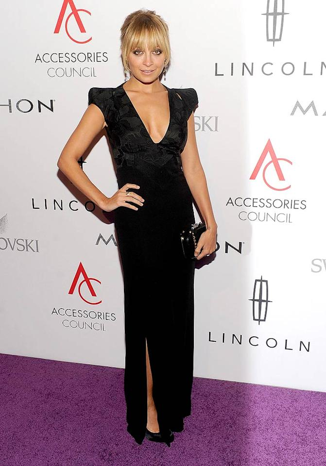 "Nicole Richie looked better than ever in Antonio Berardi upon arriving at the 15th Annual ACE Awards, where she was named Influencer of the Year thanks to her fabulous House of Harlow accessories line. Richie -- who used to wear the tackiest of ensembles while appearing on ""The Simple Life"" -- has certainly stepped up her style since parting ways with former BFF Paris Hilton. (11/7/11)"