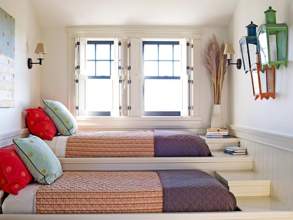 These Shared Bedroom Ideas For Small Rooms Double Up On Storage And Style