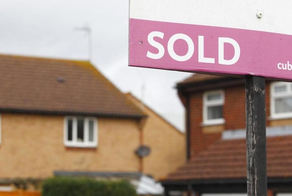 The average UK house price plunged by nearly £10,000 between June and July, as a full stamp duty holiday ended (Chris Ison/PA) (PA Wire)