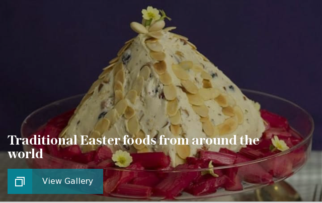 Traditional Easter foods from around the world