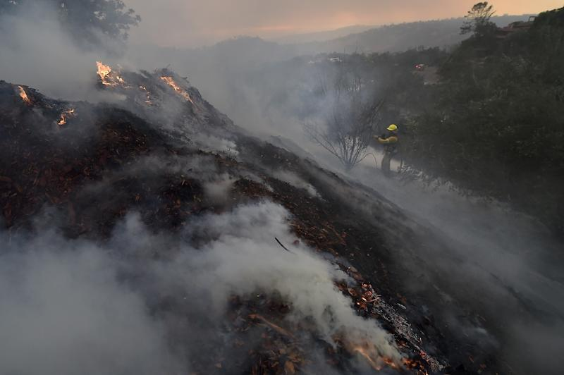 The massive Thomas fire has destroyed an area the size of the city of Los Angeles is now threatening Montecito