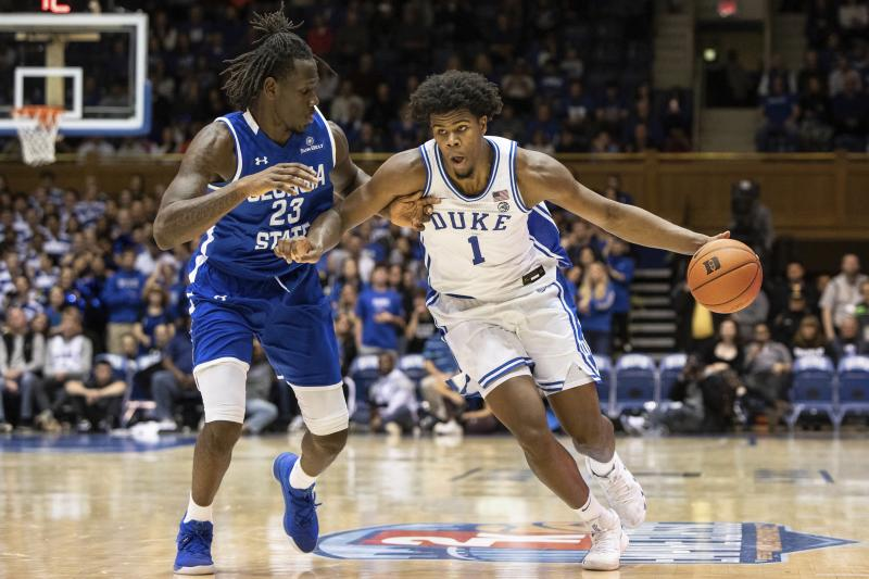 Duke, Louisville move into top spots in AP poll