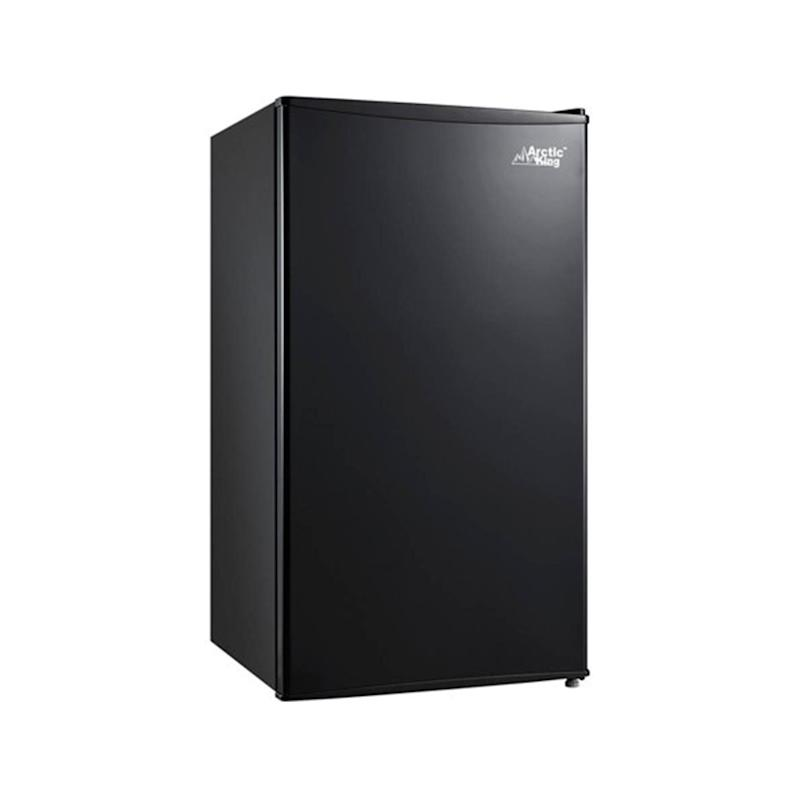 Arctic King 3.3 Cu Ft Single Door Mini Fridge. (Photo: Walmart)