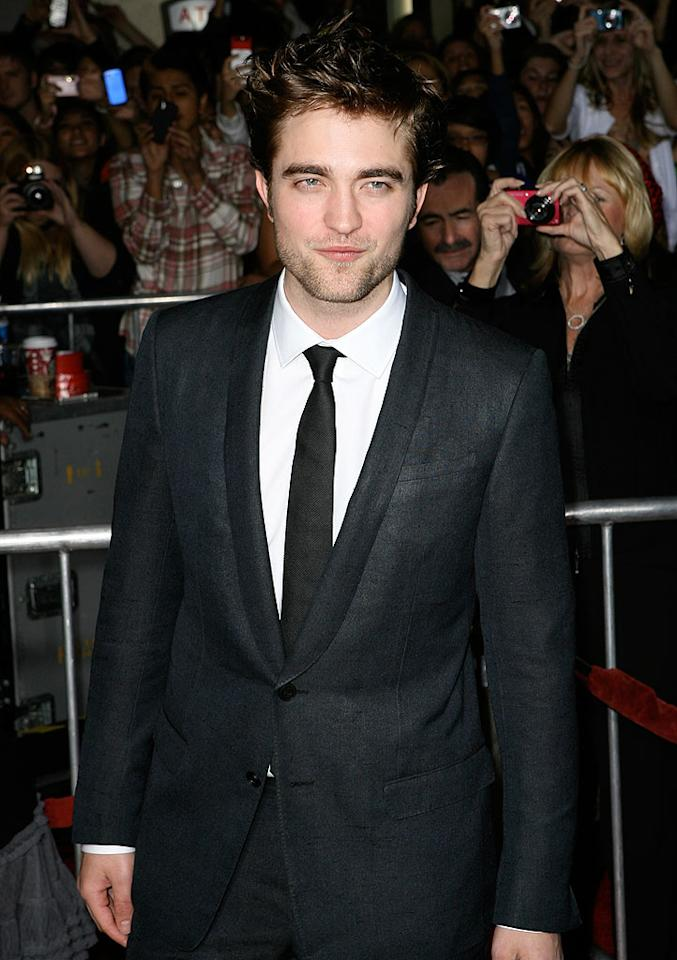 """Blogs sank their teeth into a Robert Pattinson item claiming a """"girl jumped out of a stopped car and kissed the 'New Moon' actor before admitting she had the swine flu."""" Several sites alleged Pattinson """"shoved the girl away and yelled, 'You have the swine flu?! … What the hell are you doing kissing anyone?'"""" Fortunately, there's no trough to this <a href=""""http://www.gossipcop.com/robert-pattinson-swine-flu-story-is-complete-hogwash/"""" target=""""new"""">pig tale</a> -- it's complete hogwash. AKM IMAGES/<a href=""""http://www.splashnewsonline.com/"""" target=""""new"""">Splash News</a> - November 19, 2009"""