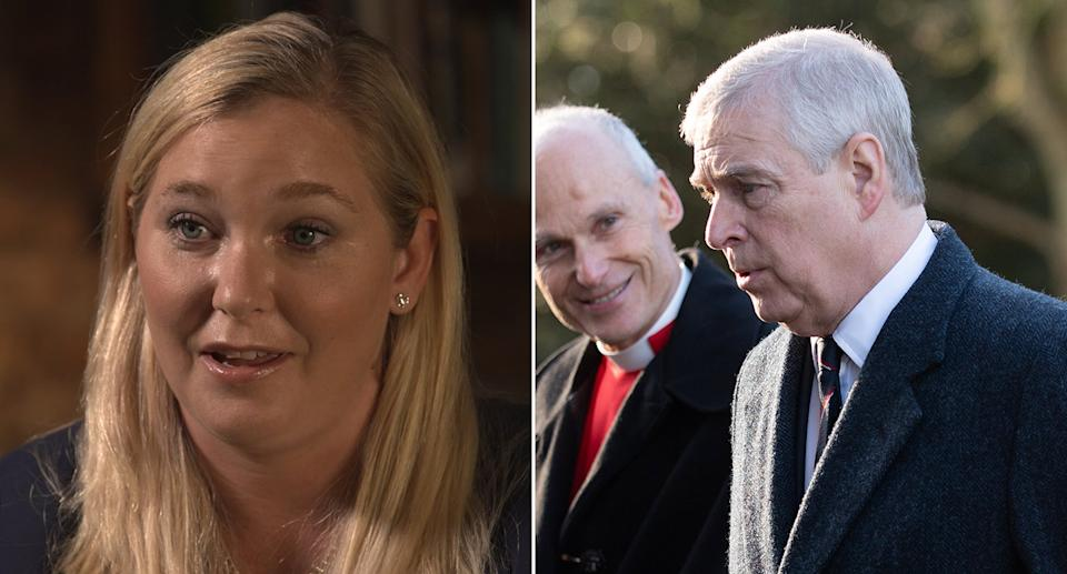 Virginia Giuffre has spoken out over Prince Andrew. (PA Images)