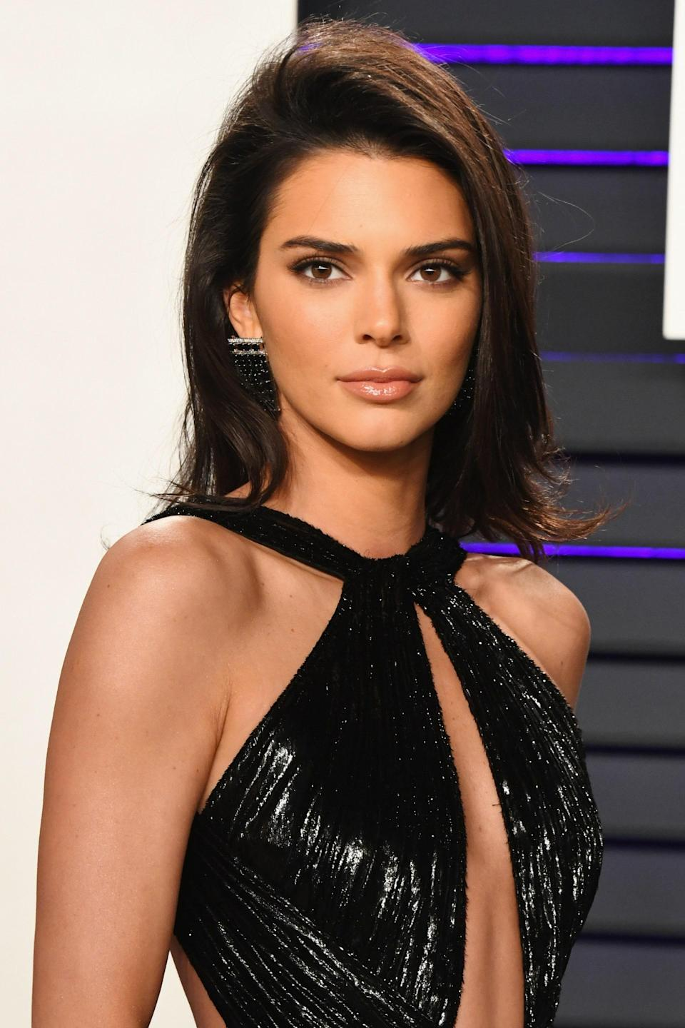 Consider Kendall Jenner's flippy ends and volume the modern update to the Rachel.