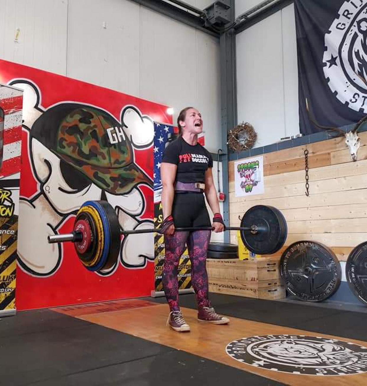 Maria Krzesinska, 40, from Dudley, works at Worcester road McDonald's in Kidderminster by day but has qualified for the Official Strongman Games World's Strongest Woman competition.