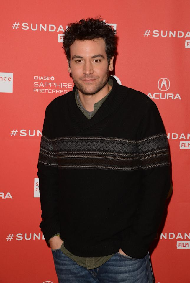 PARK CITY, UT - JANUARY 21:  Actor Josh Radnor attends the 'Afternoon Delight' premiere at Eccles Center Theatre during the 2013 Sundance Film Festival on January 21, 2013 in Park City, Utah.  (Photo by Jason Merritt/Getty Images)