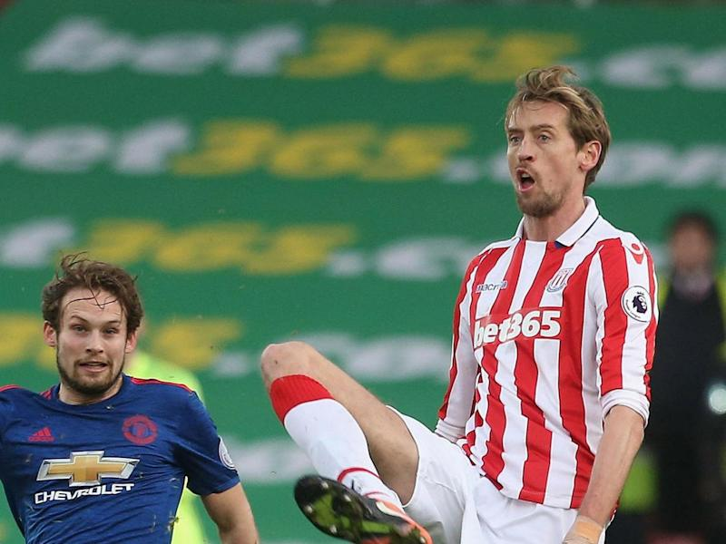 Stoke will need Crouch to be at their best (Man Utd via Getty)