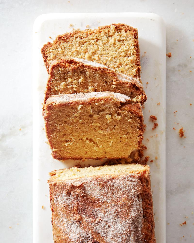 Don't trust yourself to sprinkle spice (and sugar) evenly? Strain it.