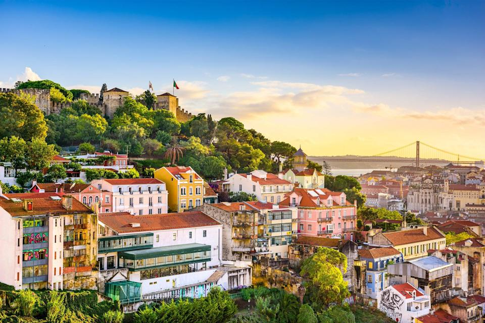 Lisbon, the Portuguese capitalGetty Images/iStockphoto
