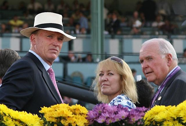 John Gosden may have been lost to racing had it not been for the love of Rachel, now his wife, at Cambridge University and of the sport itself he told AFP. (AFP Photo/Christian Petersen)