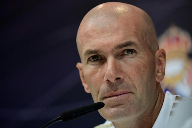 Zinedine Zidane says he is now after all counting on Gareth Bale for this season, having earlier hoped the Weslshman would move on (AFP Photo/JAVIER SORIANO)
