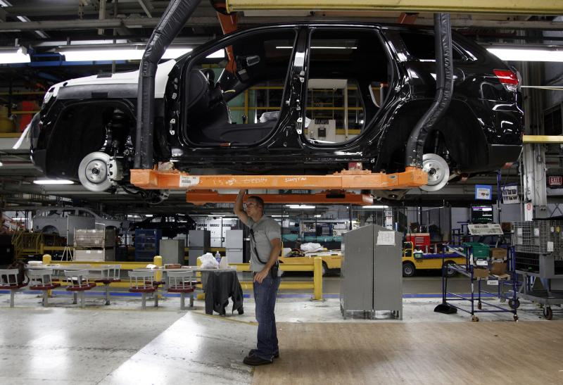 US worker productivity up modestly in April-June