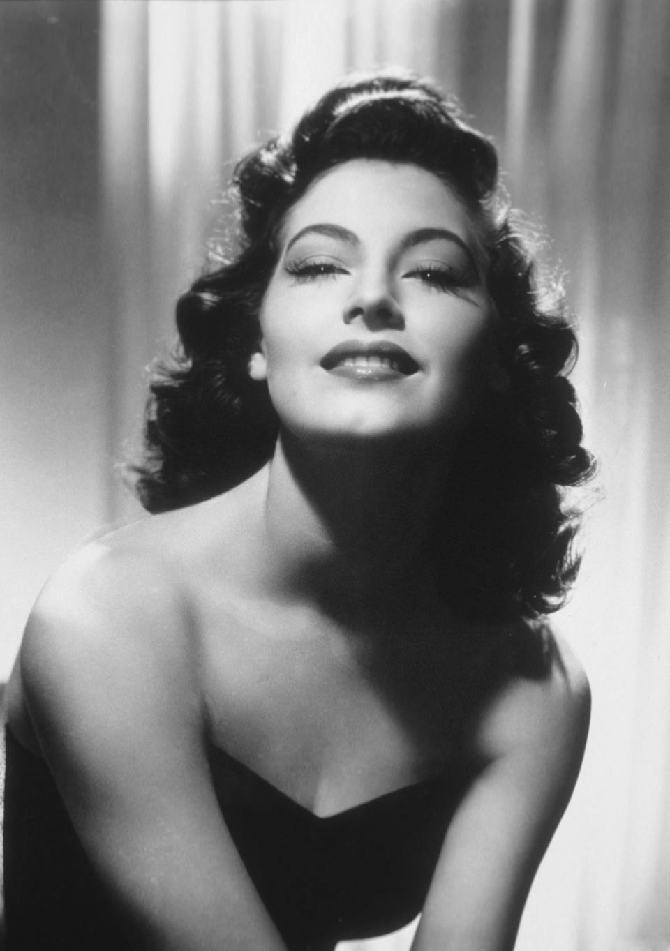 American actress Ava Gardner (Photo by Sunset Boulevard/Corbis via Getty Images)