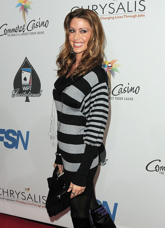 """Another Hollywood hottie who knows when to hold 'em and knows when to fold 'em is former """"American Pie"""" star Shannon Elizabeth, who participates in the World Series of Poker every single year. Jordan Strauss/<a href=""""http://www.wireimage.com"""" target=""""new"""">WireImage.com</a> - February 20, 2010"""