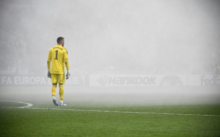Rangers goalkeeper Allan McGregor conceded four times as Rangers lost for the first time in Europe this season
