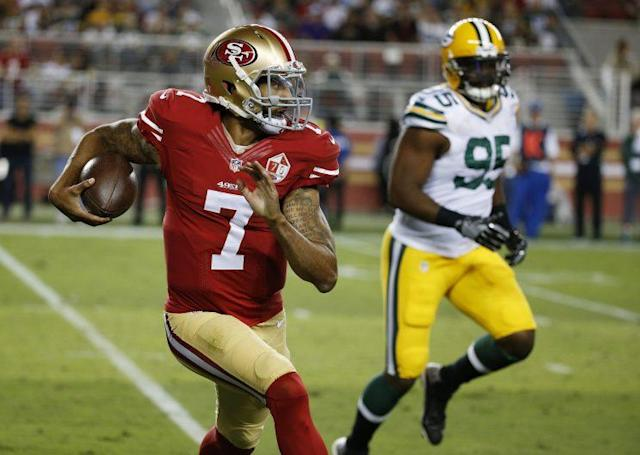 The 49ers' final preseason game is on Thursday in San Diego. (AP)
