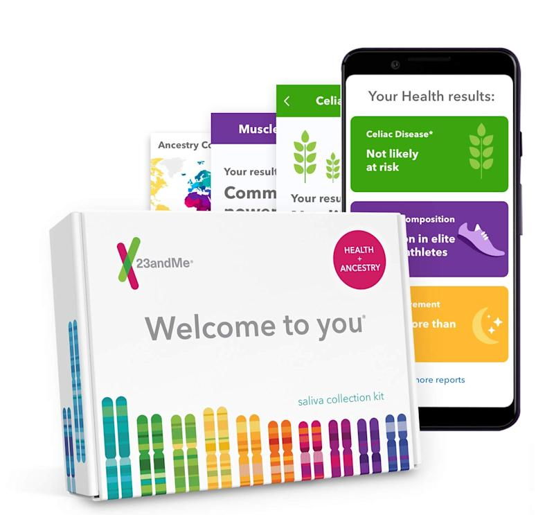 Discover who you are with this DNA test kit. (Photo: Amazon)