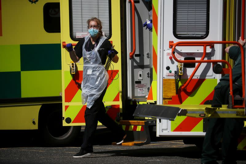 Britain scraps sales tax on personal protective equipment