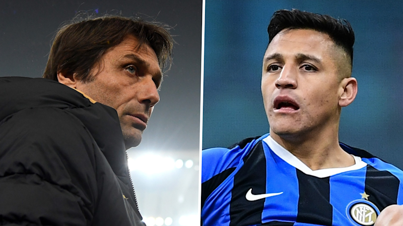 Inter boss Conte: More playing time for Alexis Sanchez? That bullsh*t makes me laugh