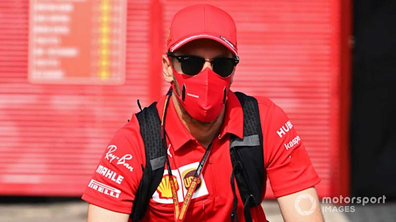 Sebastian Vettel at Tuscany GP 2020