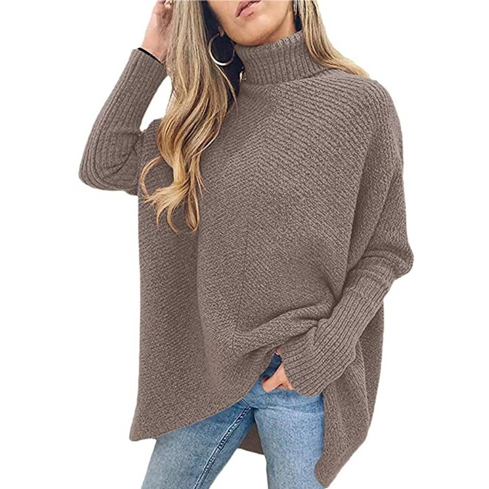 This stylish turtleneck will have you coming out of your shell this fall. (Photo: Amazon)