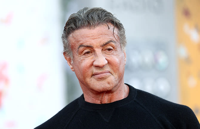 Sylvester Stallone shows his body more muscular than ever in an old photo of Rocky