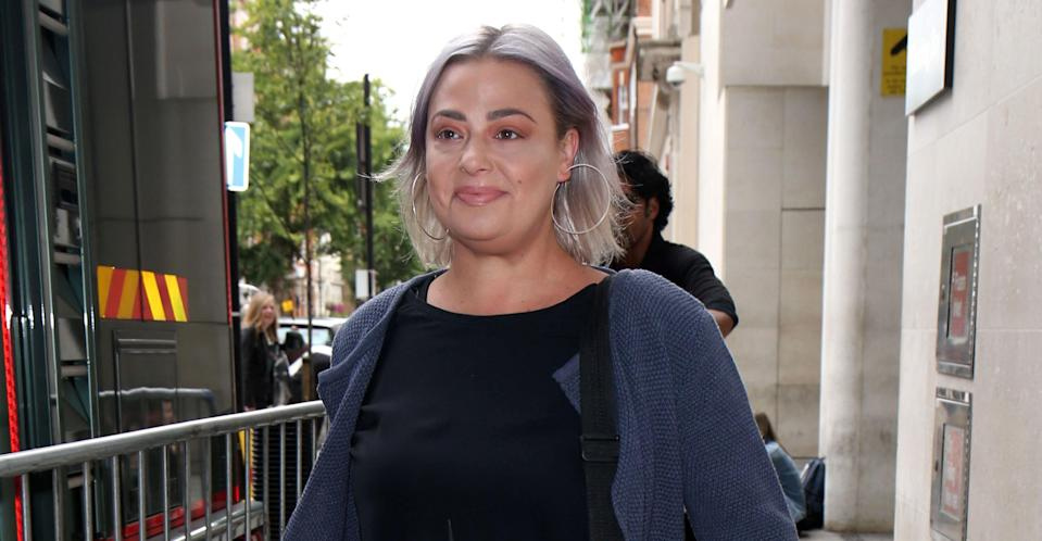 Ant McPartlin's ex-wife was allegedly fired from Britain's Got Talent. (REX)