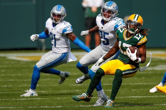 Packers' Davante Adams unsure of his status for Saints game