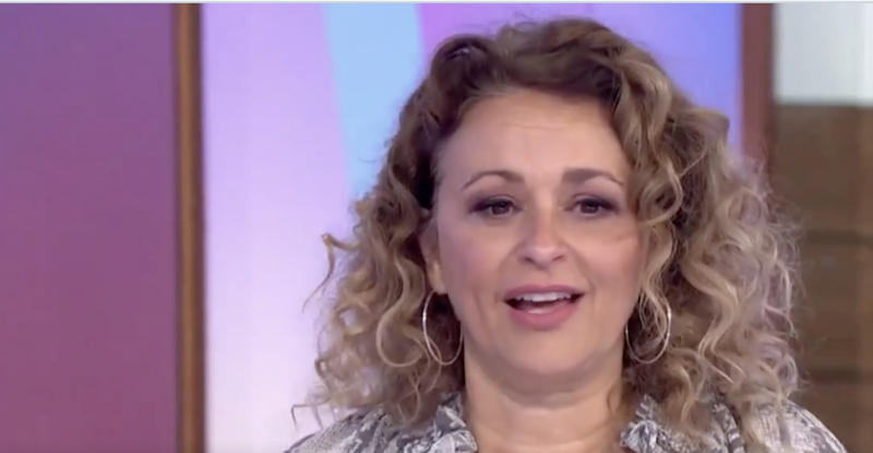 Nadia Sawalha explained that she had a 'volatile relationship' with Julia during a candid chat on Loose Week (ITV)
