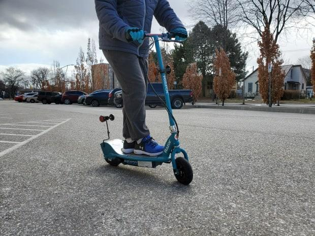 It will be up to each municipality involved in the pilot project to come up with their own regulations for allowing the use of e-scooters.  (Tahmina Aziz/CBC - image credit)